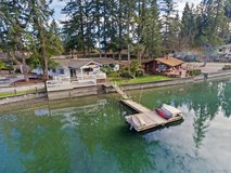 1-Level Waterfront Home With Dock in Gig Harbor in Tacoma, Washington