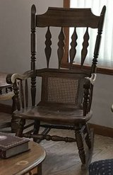 Rocking chair - solid wood in Wheaton, Illinois