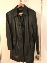 Womens leather coat, XL in Lockport, Illinois