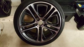BMW RIMS WITH TIRES in Fort Drum, New York