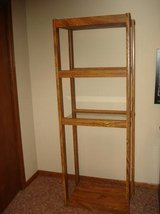upright display shelf-excellent condition in Naperville, Illinois