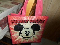 "Exclusive DisneyStore  MICKEY MOUSE  Lightweight Tote/ Shopping Bag! 13"" Nylon in Bellaire, Texas"