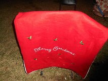 Extra Large Red Felt SANTA CLAUS Toy Bag! in Bellaire, Texas