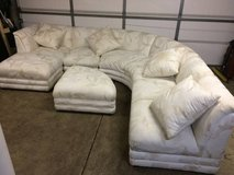 4 piece sectional with ottoman in Oswego, Illinois