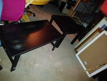 2 small black tables in Roseville, California