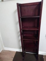 Small Dark Brown Shelving Unit Wood in Vacaville, California