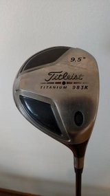 Titleist 983K Driver 9.5 - Righty - Stiff Shaft w/ Head Cover in Plainfield, Illinois