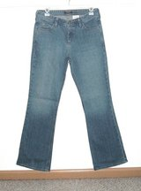 Eddie Bauer Classic Boot Cut Denim Jeans Womens 6 in Shorewood, Illinois