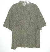 Columbia Short Sleeve Green Floral Button Down Shirt w Pocket Mens XL in Morris, Illinois