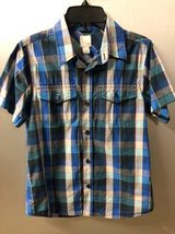 Boys button down shirt size M 10/12 Old Navy in Plainfield, Illinois