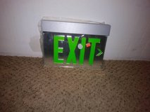 LED Exit Sign in San Diego, California