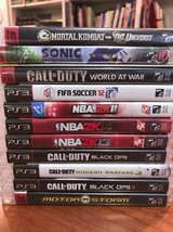 lot of 11 PS3 Games in Bolingbrook, Illinois