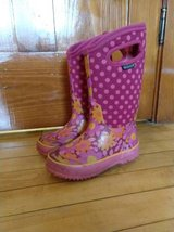 Girls Bogs winter boots, size 12 in Elgin, Illinois