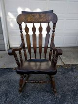 Wooden Rocking Chair in Elgin, Illinois