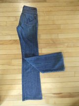 citizens for humanity women's jeans kelly 001 low waist stretch bootcut size 27 in Elgin, Illinois