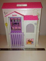 Doll House Vintage Barbie Pretty Pink Folding Doll House in Fairfax, Virginia