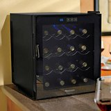 New Wine Enthusiast Silent 16-Bottle Touchscreen Wine Cellar with Blac in Joliet, Illinois