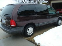 1997 plymouth grand voyager mini van-WILL ACCEPT REASONABLE OFFER) in Plainfield, Illinois
