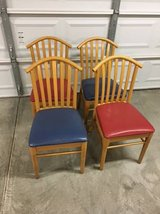 Set of 4 Dining Chairs in Vacaville, California