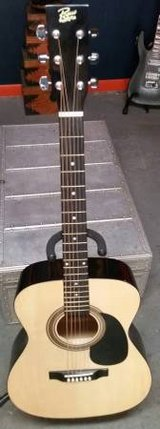 Concert Acoustic-Electric Guitar Natural in Lockport, Illinois