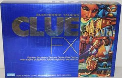 Electronic Talking Clue FX Deluxe Detective Mystery Board Game Hasbro in Glendale Heights, Illinois