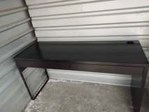 Black IKEA DESK with Two drawers - Long in Fairfield, California