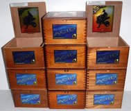 6 Left! Wooden Drew Estate Acid Kuba Maduro Nicaragua Empty Cigar Boxes in Lockport, Illinois