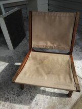 oak wood and canvass Beach Chair in Vacaville, California