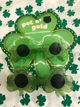 St.Patricks Day Shamrock Sunglasses Children's Size in New Lenox, Illinois