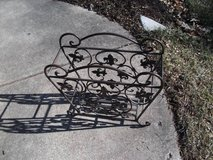 IRON STEEL METAL MAGIZINE RACK MADE IN AMERICA in Naperville, Illinois