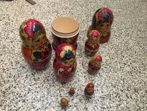 Vintage Nesting Dolls in Camp Pendleton, California