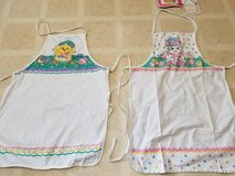 Two Spring aprons in Vista, California