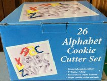 New Foxrun 26 Alphabet Cookie Cutter Set ABCs Playdoh in Batavia, Illinois