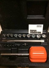 Shelton Super Versatool With Case Ratchet Bits Sockets Versa Tool Vint in Glendale Heights, Illinois