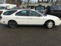 2004 Ford Taurus Station Wagon-WHITE with grey interior in Fort Lewis, Washington