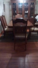 Dining Room Table, Chairs and China Cabinet in Naperville, Illinois