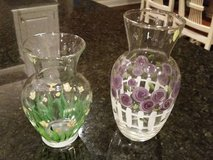 Vases- Hand painted in Chicago, Illinois