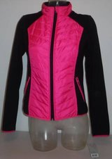 New! Sz Small Exertek Quilted Color Block Athletic Jacket in New Lenox, Illinois