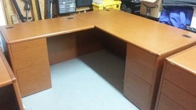 HON L-Station Office Desk with Left Side Return(Orig. Cost $2400) in Chicago, Illinois
