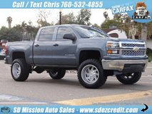 2014 Chevrolet Silverado LT Blue =BRAND NEW LIFT & WHEELS= Chevy in Vista, California