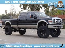 2008 Ford F-350 Super Duty Lariat Diesel 4x4 King Ranch = Huge Lift= in Vista, California
