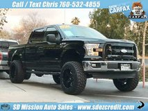 2017 Ford F-150 XLT Crew Cab Black =LIFTED= in Vista, California