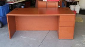 HON Pedestal Office Desk (Org. Cost $1426) in Chicago, Illinois