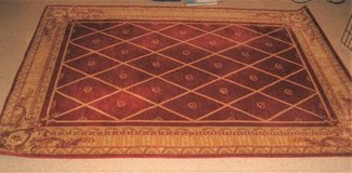 ASHTON HOUSE COLLECTION 100% WOOL RUG - NEW ZEALAND WOOL - 5' x 7' in Naperville, Illinois