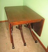 Vintage 1957 Lassers Furniture Wood Table & 6 Chairs in Naperville, Illinois