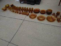 Indian Glass Amber Daisy 85 piece in Vacaville, California