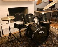 Sound Percussion Labs Kicker Pro 5-Piece Drum Set with Stands, Cymbals in Quantico, Virginia