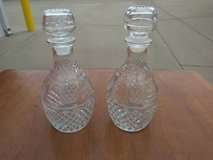 Crystal Decanters In Fairfield 6/16 if you want me to bring this in Sacramento, California
