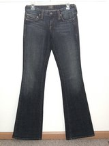 Kasil David Lim ELEANORE Boot Cut Jeans Womens Tag 27 Measures 28 x 35 Long Tall in Plainfield, Illinois