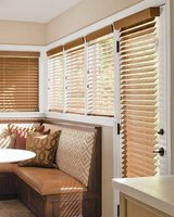 "Like New! (1) Smith & Noble Oak Wood Blinds 63""W x 46"" in Westmont, Illinois"